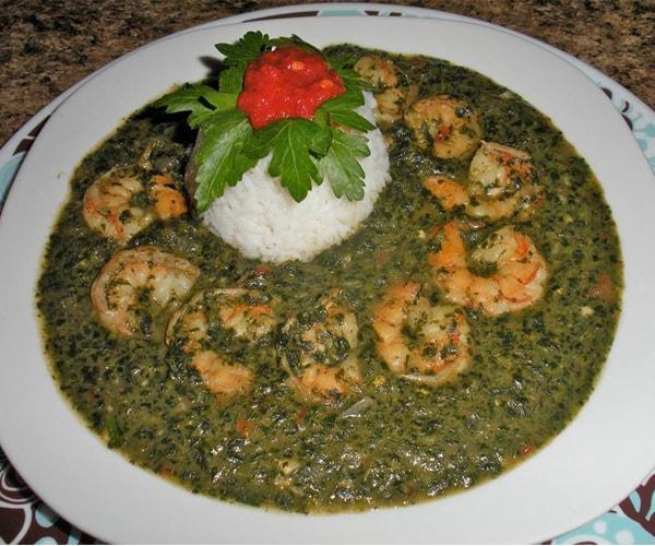 Com súp lá Molokhiya Ai Cập