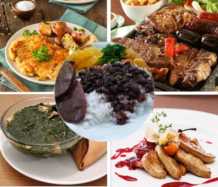 Món ăn đặc trưng ở các nước