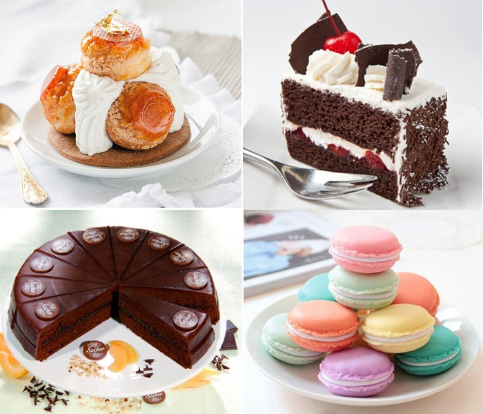 Những chiếc bánh ngọt Châu Âu