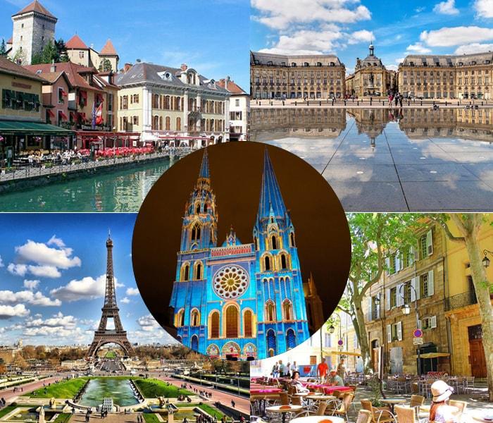 Những thành phố ở Pháp