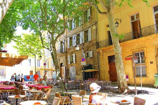 Thành phố Aix en Provence
