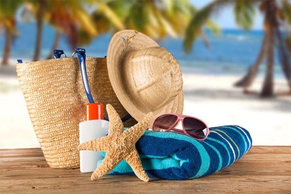 Vật dụng cần thiết khi đi du lịch biển