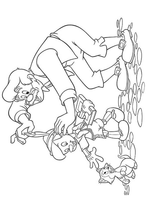 Geppettp và Pinocchio