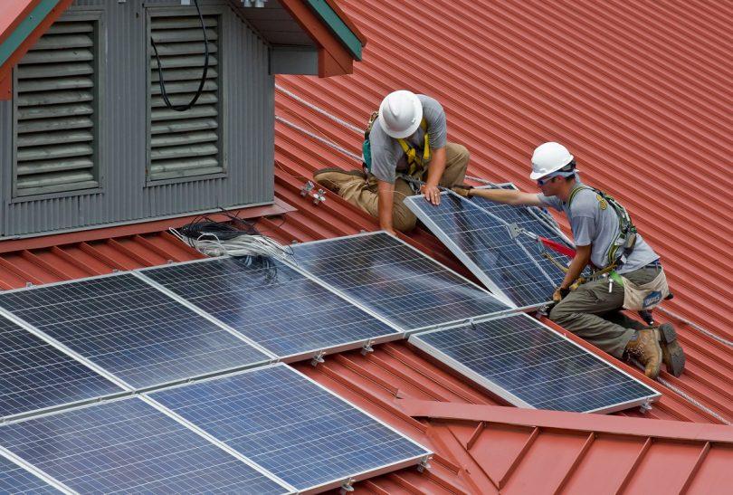 Hệ thống năng lượng trên mái nhà