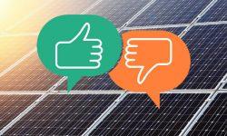 Ưu và nhược điểm năng lượng mặt trời