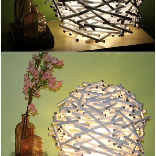 Cách làm đèn trang trí handmade đẹp nhất 2
