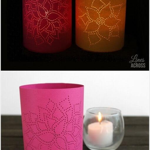 Cách làm đèn trang trí handmade đẹp nhất 5