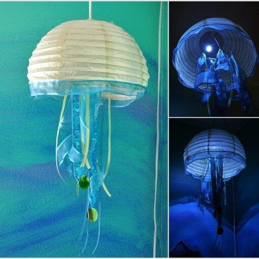 Cách làm đèn trang trí handmade đẹp nhất 6