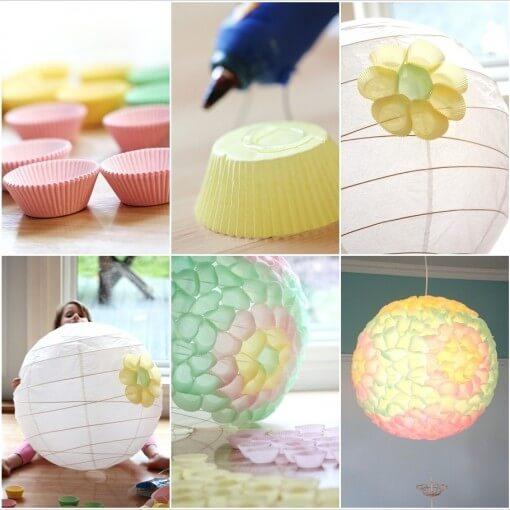 Cách làm đèn trang trí handmade đẹp nhất 7